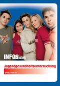 Titelseite der Broschüre: Infos zur Jugendgesundheitsuntersuchung J1