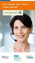 Abbildung - Info Telefon Organspende - Leichte Sprache