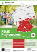 """Bild zu Plakat """"FSME-Risikogebiete in Deutschland"""""""