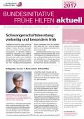 Bild zu Bundesinitiative Frühe Hilfen aktuell. Ausgabe 1/2017