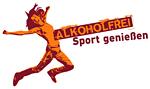 "Logo der Kampagne ""Alkoholfrei Sport geniessen"""