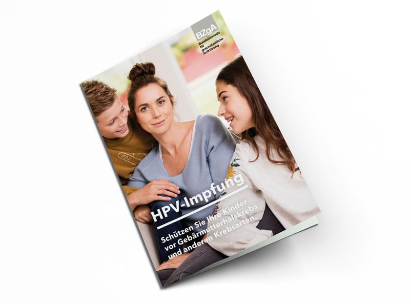 Bild zu HPV Elternbroschüre