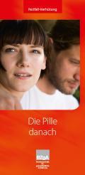 Bild zu Die Pille danach - Faltblatt, Deutsch