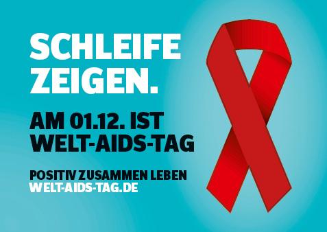 Bild zu Postkarte Welt-AIDS-Tag 2017