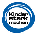 """Logo der Kampagne """"Kinder stark machen"""""""