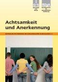 Titelseite der Lehrerhandreichung Achtsamkeit und Anerkennung - Klassen 5-9