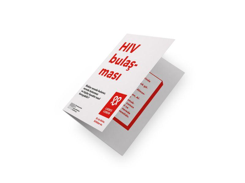 Bild zu HIV-Übertragung. Wo Risiken bestehen, wo nicht und wie man sich schützen kann (türkisch)