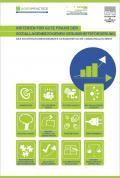 Titelseite der Broschüre: Kriterien für gute Praxis der soziallagenbezogenen Gesundheitsförderung