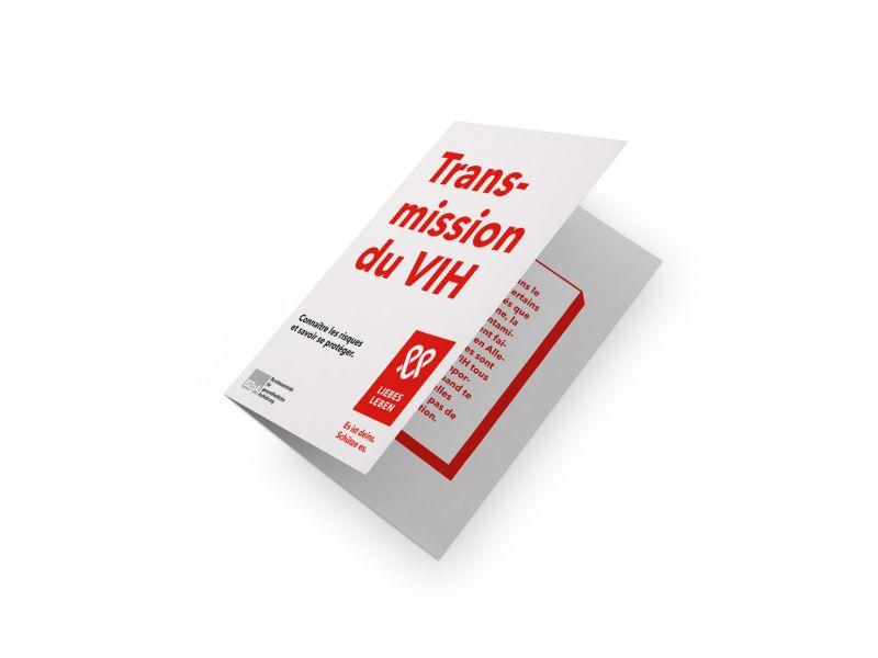 Bild zu HIV-Übertragung. Wo Risiken bestehen, wo nicht und wie man sich schützen kann. (französisch)