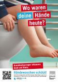 """Bild zu Plakatserie """"Wo waren deine Hände heute?"""""""