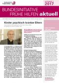 Bild zu Bundesinitiative Frühe Hilfen aktuell. Ausgabe 2/2017