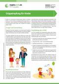 Bild zu Grippeimpfung für Kinder