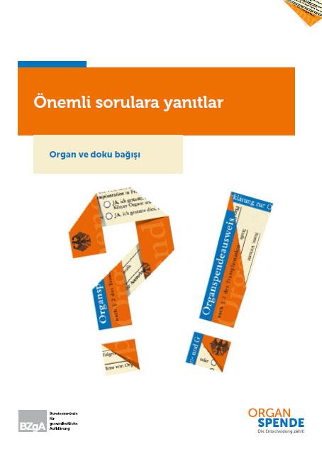 Bild zu Organspende - Antworten auf wichtige Fragen - Türkisch