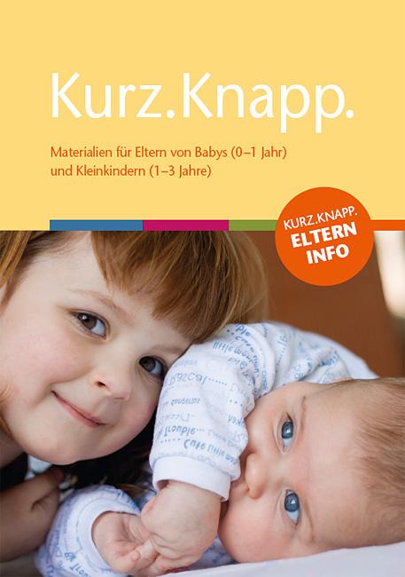 Titelseite der Mappe KURZ.KNAPP.