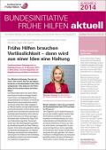 Bild zu Bundesinitiative Frühe Hilfen aktuell. Ausgabe 4/2014