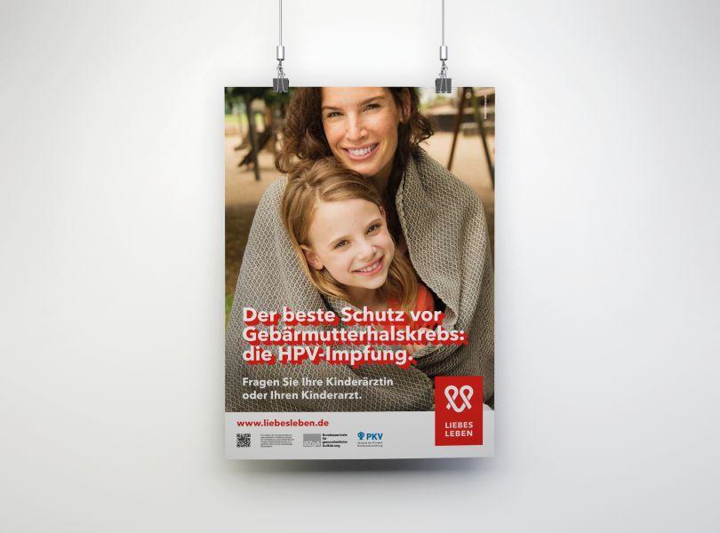 Bild zu HPV-Wartezimmerplakat für Eltern