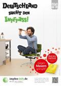 """Bild zu """"Deutschland sucht den Impfpass - Gegen Masern geimpft?"""" Plakate der Kampagne zur Masern- bzw. MMR-Impfung für Jugendliche und Erwachsene  (2015)"""
