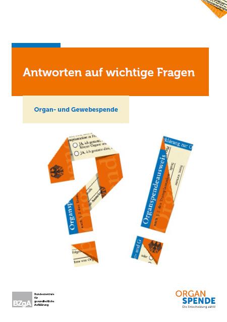 Bild zu Antworten auf wichtige Fragen - Organ- und Gewebespende - Deutsch