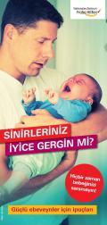 """Bild zu Faltblatt Schütteltrauma """"Ihre Nerven liegen blank?"""" auf Türkisch"""