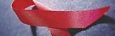 Bildmarke Aidsprävention - Die rote Aids-Schleife
