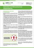 Bild zu Sicherheit und Wirksamkeit der Grippeimpfung