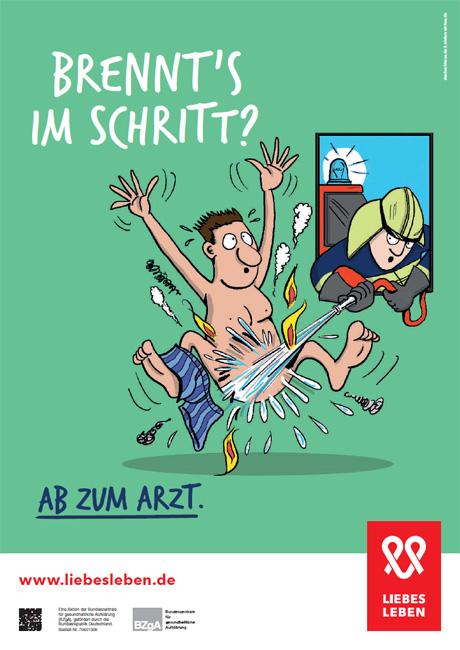 """Bild zu LIEBESLEBEN 2016 - Innenraumplakat Motiv """"Feuerwehr"""""""
