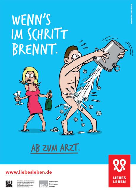 "Bild zu LIEBESLEBEN 2016 - Innenraumplakat Motiv ""Sektkühler"""