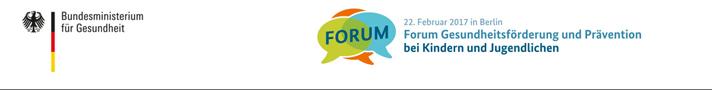 """Themenbild """"Forum Gesundheitsförderung und Prävention bei Kindern und Jugendlichen"""""""