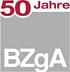 Logo der Bundeszentrale für gesundheitliche Aufklärung (50 Jahre)